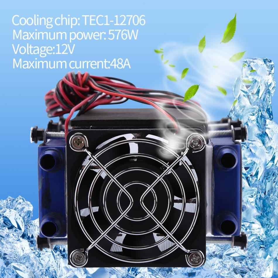 Thermoelectric Peltier Coolers 12V 576W 8-Chip TEC1-12706 DIY  Thermoelectric Cooler Refrigeration Air Cooling Device