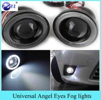 1 Set 3 5 3 0 2 5 Inch COB Angel Eyes Fog Lights Led Car