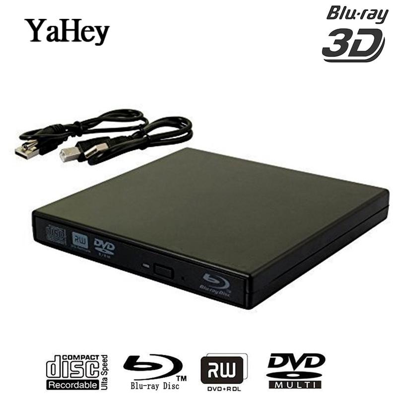 Ultra Slim 3d Blu-ray Player Tragbare Externe Usb 3.0 Reader/ Schriftsteller Bd-rw Für Apple Macbo schriftsteller/blu-ray Externe Computer & Büro