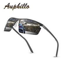Mens Sunglasses Brand Design Aluminum Magnesium Semi-Rimless Polarized Men Driving Glasses UV400 Eyewear Accessories