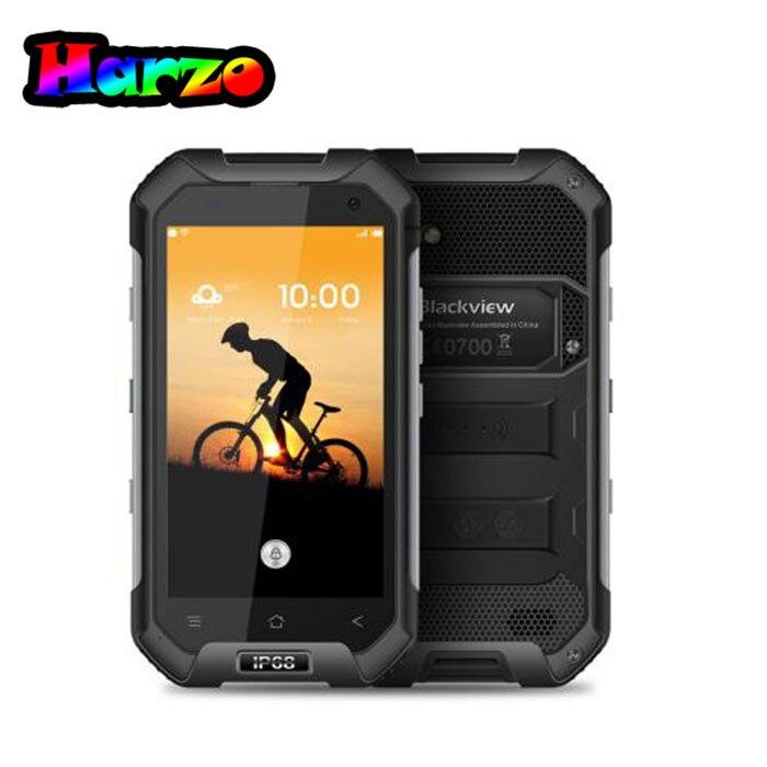 Цена за Blackview BV6000S Водонепроницаемый IP68 4.7 ''HD MT6735 Quad Core Android 6.0 Мобильный Сотовый Телефон 2 ГБ RAM 16 ГБ ROM 4 Г LTE смартфон