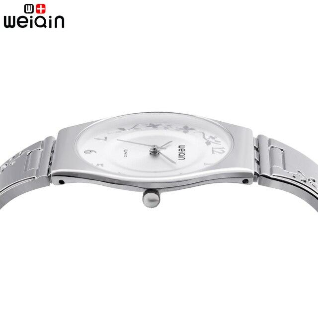 1a78dd22124 Weiqin super fino de quartzo mulheres relógios de luxo famosa marca de  relógios das senhoras das