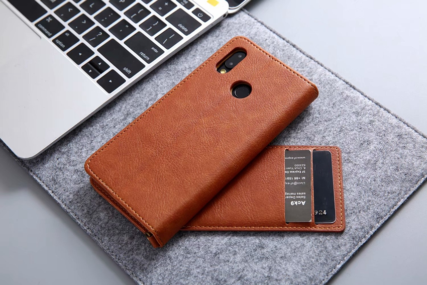 for huawei P20 lite leather case (8)