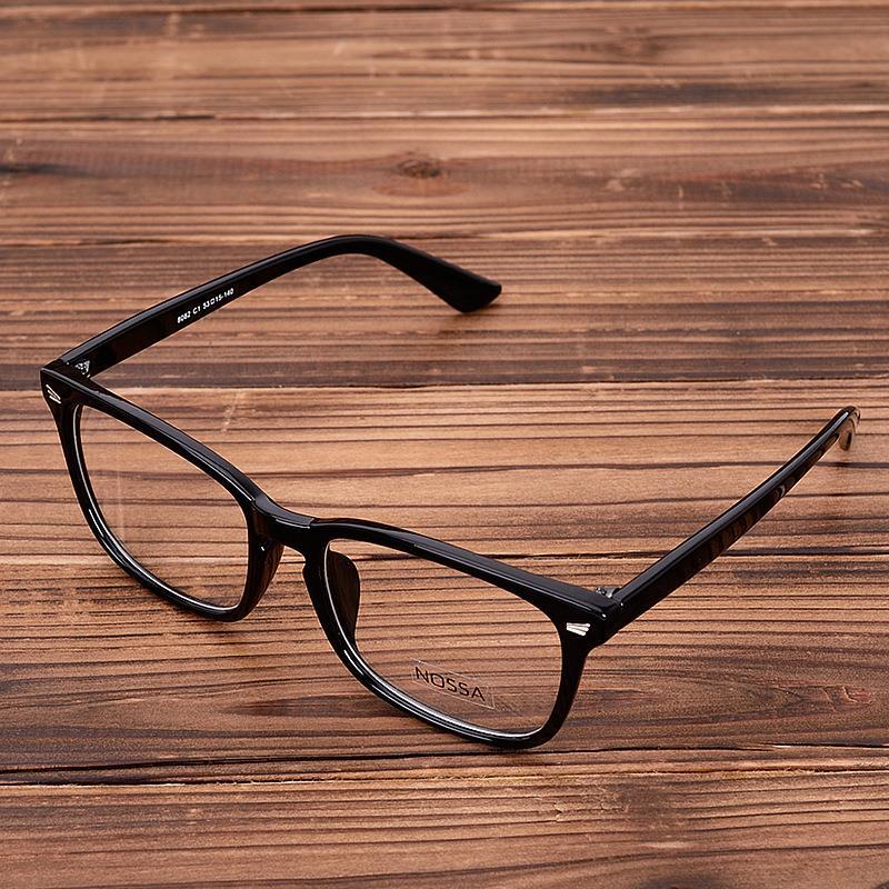 Acetatne očala Okvirna jasna leča Optična očala Leopard Vintage receptna očala Očala Okviri za očala Ženske Moški