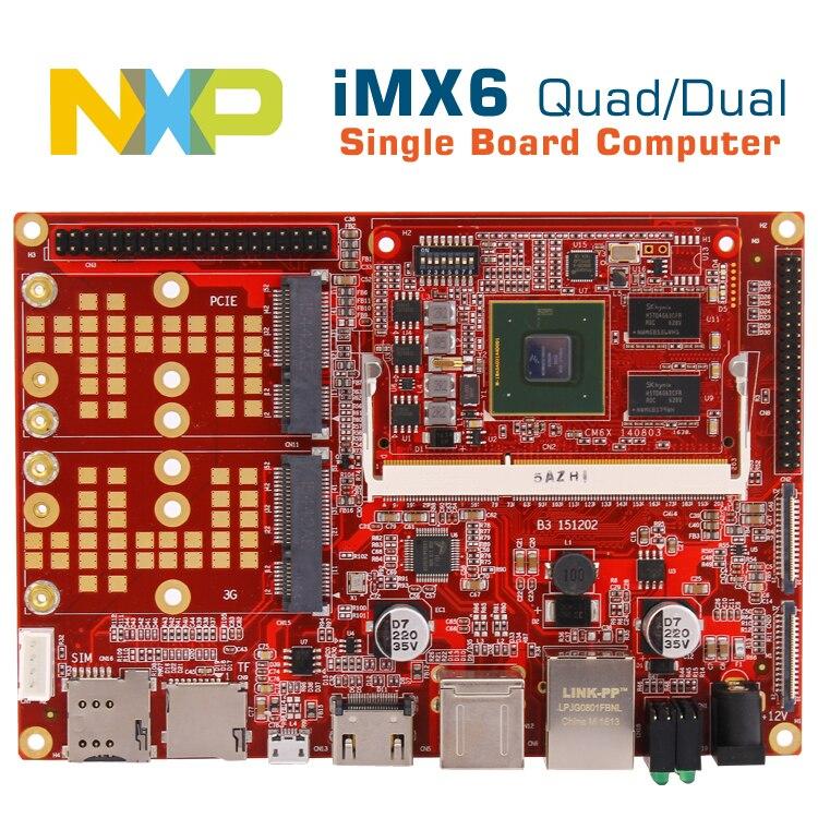 Je. mx6quad ordinateur de bord imx6 android/linux développement conseil i. mx6 cpu cortexA9 conseil intégré POS/voiture/médical/conseil industriel