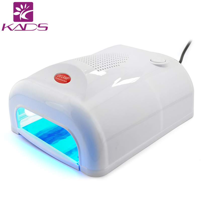 KADS Nail Polish Gel Art Tools Professional 36W Induction UV Lamp Light Nail Dryer With Automatic Induction Timer 48w nail polish gel art tools professional ccfl led uv lamp light 110 220v nail dryer automatic induction 10s 20s 30s timer