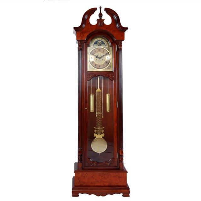 Continental Mechanical Watches Wood Floor Living Room Big Clock