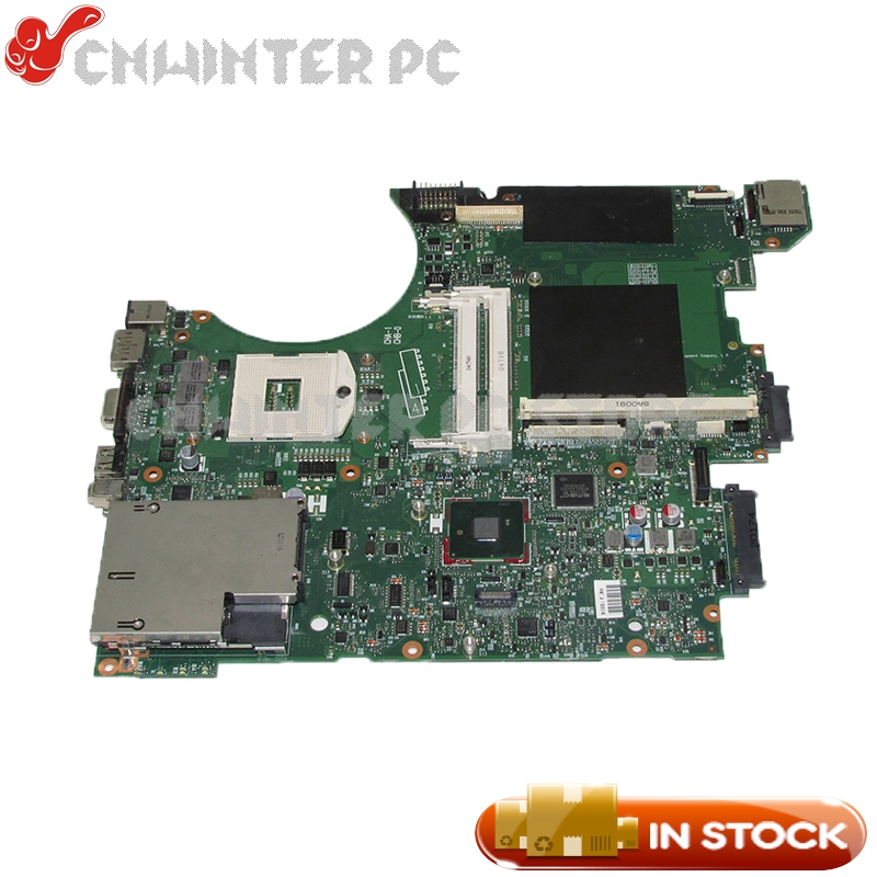 NOKOTION 595700-001 PC MAIN BOARD For HP 8740W Laptop Motherboard QM57 DDR3 with graphics slot free shipping 690643 001 motherboard for hp elitebook 8570w system board main board hd4000 j8a with graphics slot 100