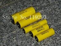 BELLA SOSHIN Tinfoil Axial P2E 105K 1UF 105J Current Genuine Original Big Foot Blister 5pcs