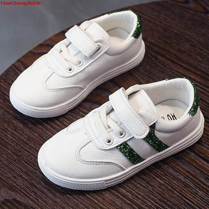 HaoChengJiaDe New Children Leather Shoes For Boys Dress Shoes Black Flat Dancing Wedding PU Leather School Students Shoes Kids