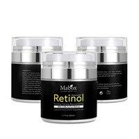 Mabox Retinol 2.5% Moisturizer Face Cream Vitamin E Collagen Retin Anti Aging Wrinkles Acne Hyaluronic Acid Whitening Cream Skin Care