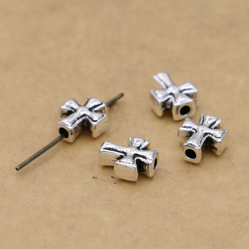 Free Ship 50Pcs Tibetan Silver Owl Spacer Beads For Jewelry Making 10x8mm