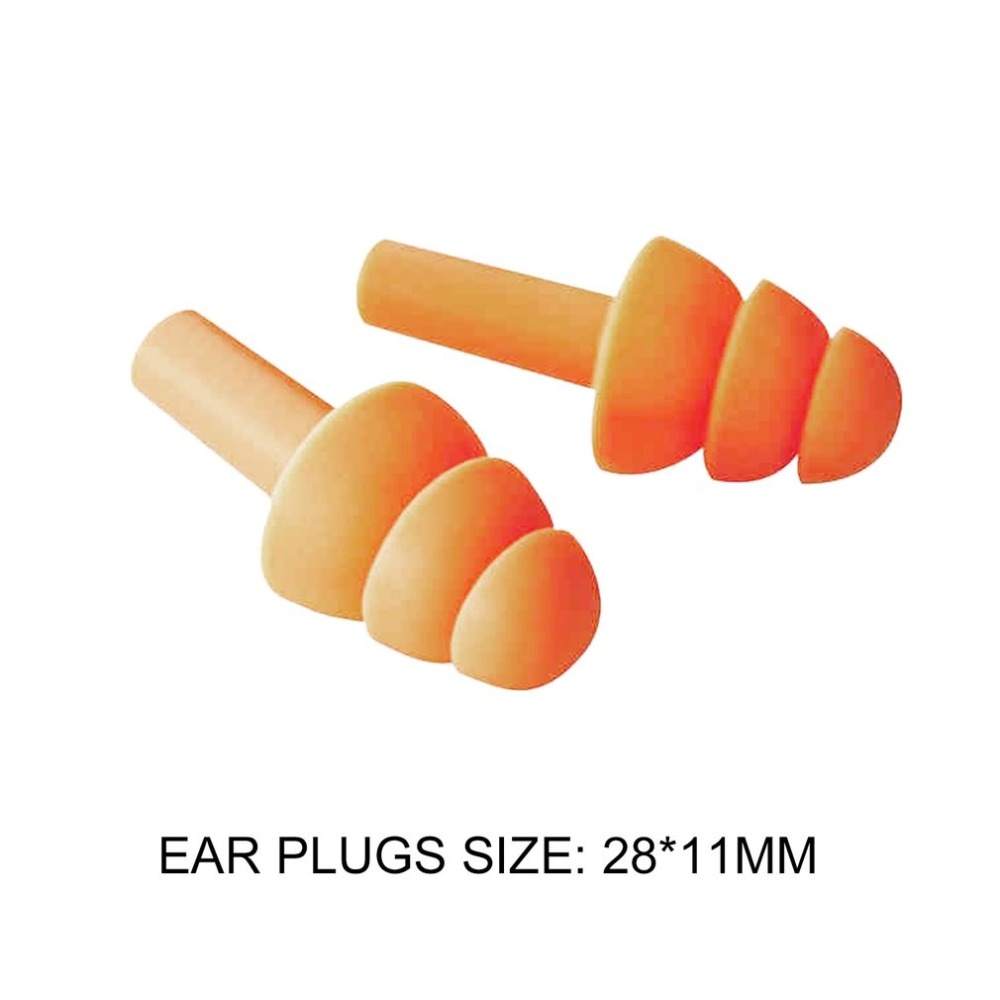Soft Silicone Ear Plugs Sound Insulation Ear Protection Earplugs Noise Reduction Sleeping Plugs with Storage Box