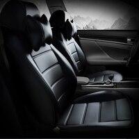 На заказ кожаный чехол для автомобиля mitsubishi lancer 10 ASX EX Zinger FORTIS Outlander Grandi pajero спортивные автомобильные аксессуары