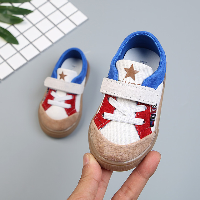 95f1517485e6 0-1 Years old Infants Casual Rubble Sole Walking Shoes Real Leather Soft  Sole Mix Colors Stars Baby Boys Girls Crib Shoes