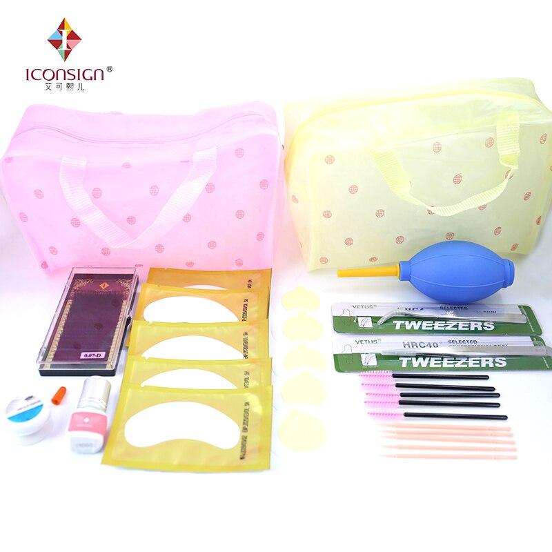 ICONSIGN eyelashes extension kit for starter fashionable