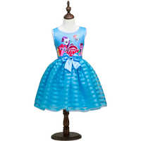 Brand Baby Girl Dress Children Kids Dresses For Girls 3 4 5 6 7 8 Year Birthday Outfits Dresses Girls Evening Party Formal Wear
