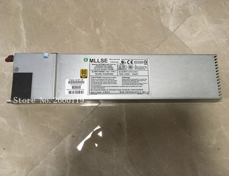 100% Working For PWS-721P-1R 720W Power Supply Full Test100% Working For PWS-721P-1R 720W Power Supply Full Test