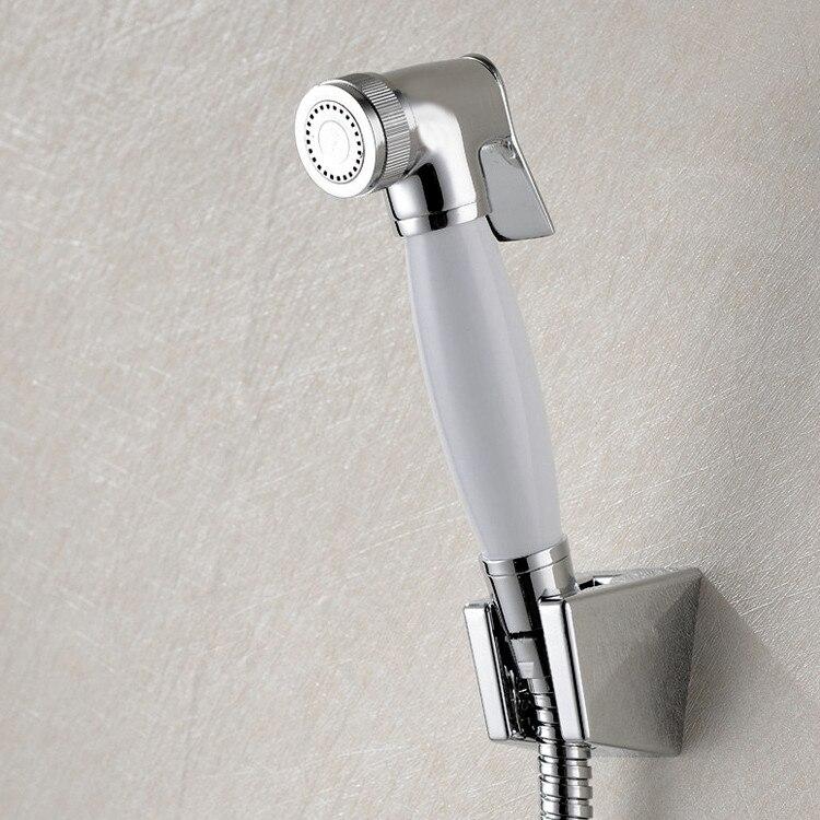 Free shipping Ceramics&Brass Toilet Hand Held Diaper Sprayer Shower ...