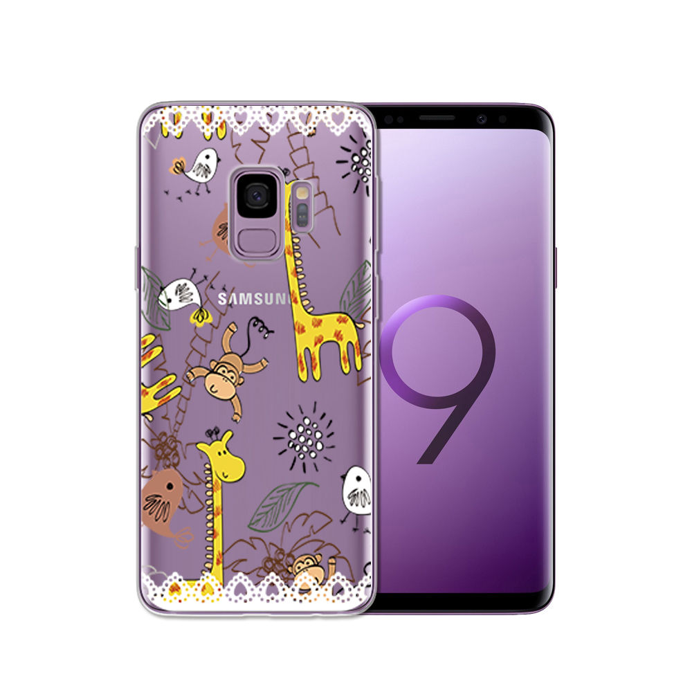 Arvin Silicone Case FOR Samsung Galax s5 S6 S7 S8 Clear Protective case FOR Samsung S6 edge S8 Plus S9 Plus Soft TPU Phone Cover (16)