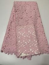 Sıcak satış 2020 yüksek kaliteli afrika danteli kumaşlar gipür dantel kumaşlar nijeryalı dantel kumaş kadınlar için elbise CD2972