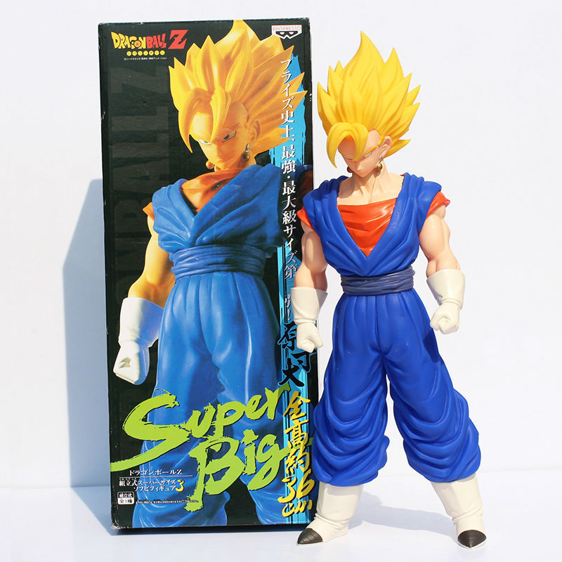 36CM Dragon ball z figures 3th Goku figure chidren toy Christmas gift colorful package