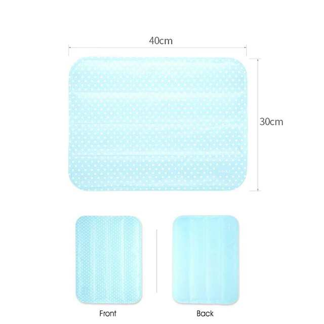 Us 14 86 21 Off Self Cooling Car Seat Cushion Non Toxic Cooling Gel Mat Pad For Foot Office Chair Laptop In Automobiles Seat Covers From
