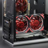 Computer/PC CPU/GPU/VGA Cooler Graphics Card Cooling Fan Silent Quiet DC 12V 120mm Fan Motherboard Heatsink Hard Disk radiator