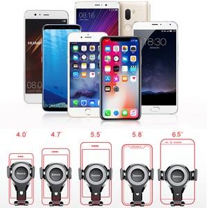 Image 5 - Автомобильный держатель для телефона Baseus, для iPhone 11 Pro Max/Samsung
