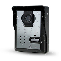 Free Shipping Color Video Door Phone Video DoorBell Outdoor CMOS IR Night Vision Camera With Weaterproof