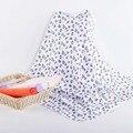 Bebê Swaddles 5 Peças/lote 72*72 cm Dupla Face Pano 100% algodão Toalha de Banho Gaze Cobertores Do Bebê Recém-nascido Primavera Outono Espera Wraps