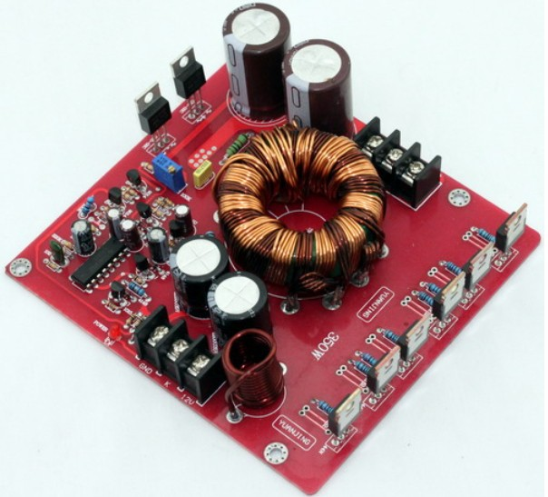 LM3886 TDA7294 TDA7293   Power Board Output Voltage adjusted 30VDC boost to +/ 20 32VDC 350w power supply for car amplifier|Amplifier|   - AliExpress