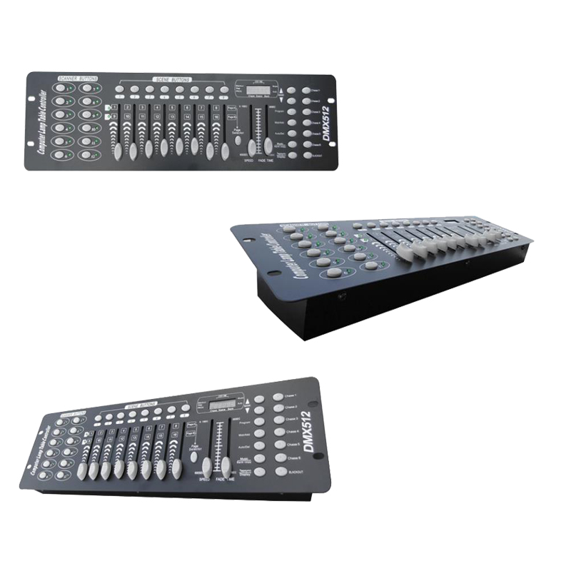 Cheap Pilot 2000 DMX Controller DMX384 Console 192 Controller For LED Stage Moving Head Light DJ Equipment Lighting System