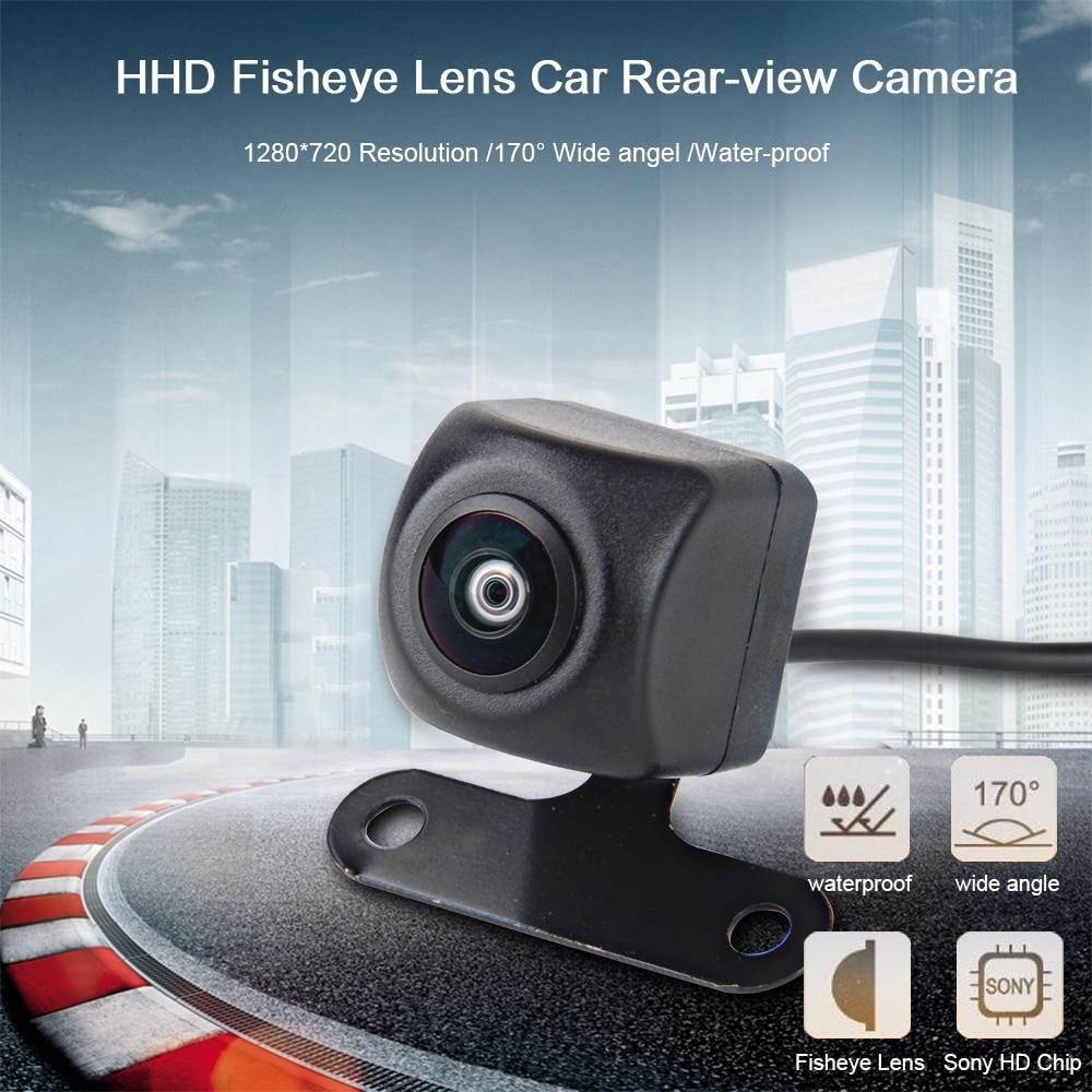 Dasaita Universal Car Rear View Camera with Fisheye HD lens Backup Camera Vehicle Parking Assiantance Camera 170 Wide Angel