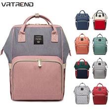 Рюкзак для подгузников, сумка для мам, Большая вместительная сумка для детей, многофункциональные водонепроницаемые дорожные сумки для подгузников для ухода за ребенком, дропшиппинг