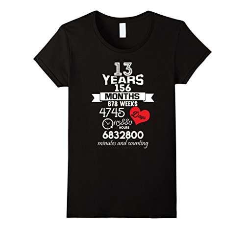 Anniversario 13 Anni Matrimonio.Regalo Di Anniversario 13th 13 Anni Di Matrimonio Matrimonio T