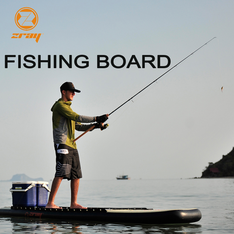De pêche conseil SUP JILONG Z RAY FS7 stable gonflable stand up paddle board surf surf kayak sport bateau bodyboard rame paddl