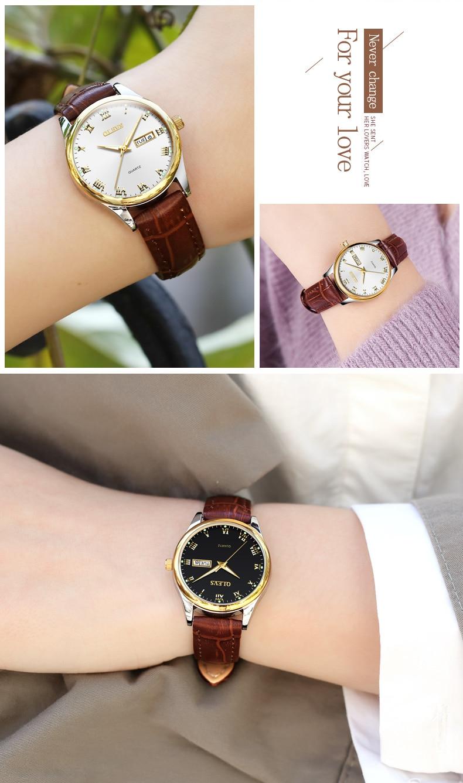OLEVS Rose Gold Steel Bracelet Luxury Creative Girl Quartz Watch