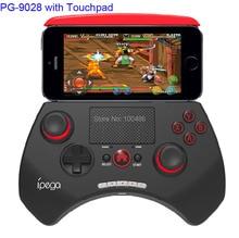 Ipega PG-9028 Bluetooth для Беспроводной 5.5 Дюймов Геймпад Регулятор Игры Джойстик 2.0 Дюймов Сенсорной Панели Для iPhone Samsung Android/ios/PC