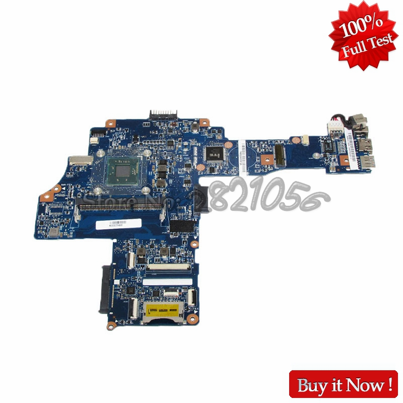 NOKOTION H000079490 PC Main Board For Toshiba Satellite C40-B CA10BM Laptop Motherboard N2830 CPU DDR3 nokotion genuine h000064160 main board for toshiba satellite nb15 nb15t laptop motherboard n2810 cpu ddr3
