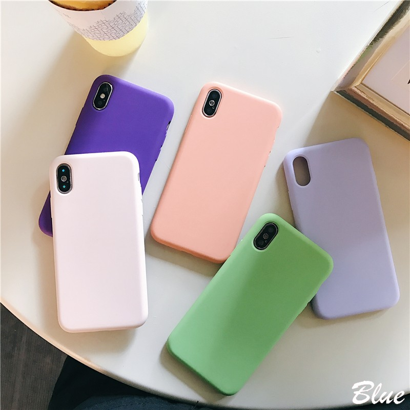 Liquid Silicone Phone Case for Iphone X Cover Protective Phone Case Microfiber Luxury Case for Iphone X XS MAX XR 8 7 6 6s Plus in Fitted Cases from Cellphones Telecommunications