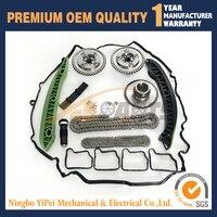 Camshaft Exhaust Intake Adjuster Actuator For MERCEDES C250 SLK250 1 8L Timing Chain Kit