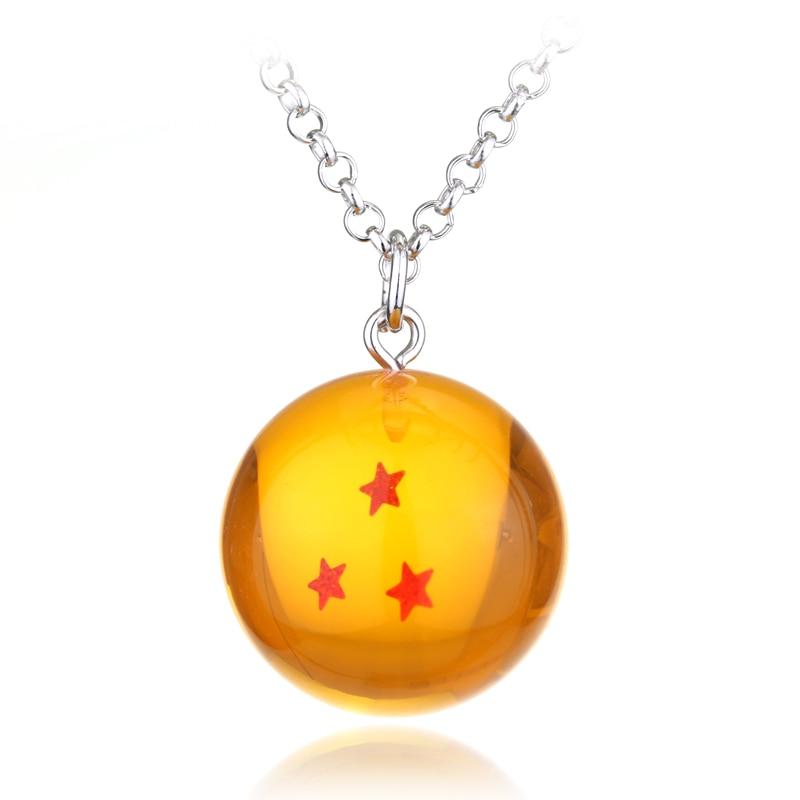 Dragon Ball Z 1-7 Star Necklace