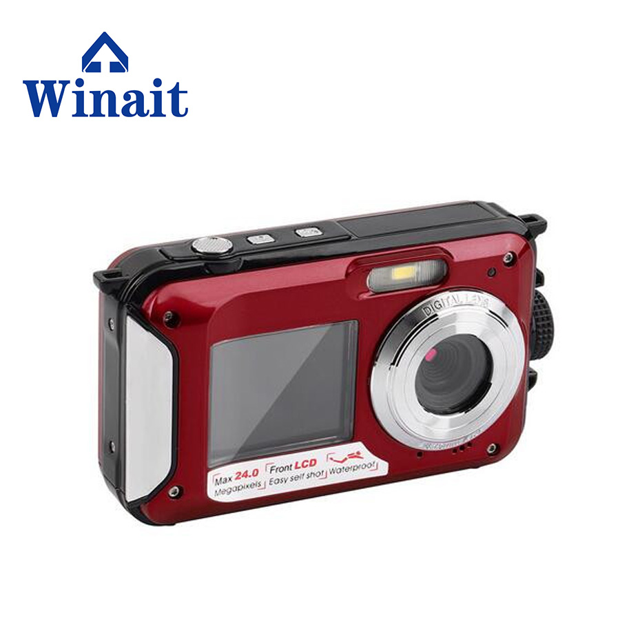 ФОТО Digital Camera Compact Photo Camera 24MP Full HD Video Fixed focus  Optical Zoom 2.7+1.8