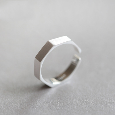 New 925 Sterling Silver Rings Nuts Couple For Women Rings Adjustable Rings Free Shipping