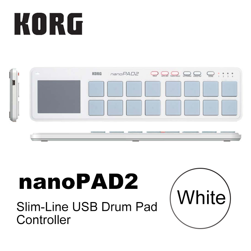 US $66 49 5% OFF|Korg nanoKEY2 nanoPAD2 nanoKONTROL2 Slim Line USB MIDI  Pads 16 Tripper Pads with USB Cable-in Guitar Parts & Accessories from  Sports