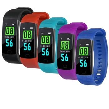 Smart Bracelet Y5 Smart Wristband Heart Rate Blood Oxygen Sleep Monitor Fitness Tracker Smart Band Color Display Sport Bracelet