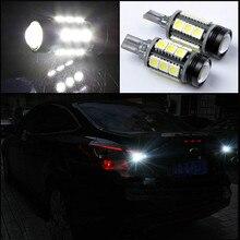 Car Reverse Lights Backup Rear Lights LED Material With Decoder Avoid Error 12V 16W For Ford FOCUS 3 RIO Cruze K2 2012-2014