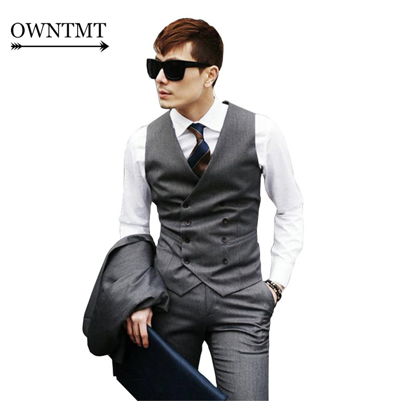 Aliexpress.com : Buy 6XL Men Suit Vest New Man Double Breasted ...