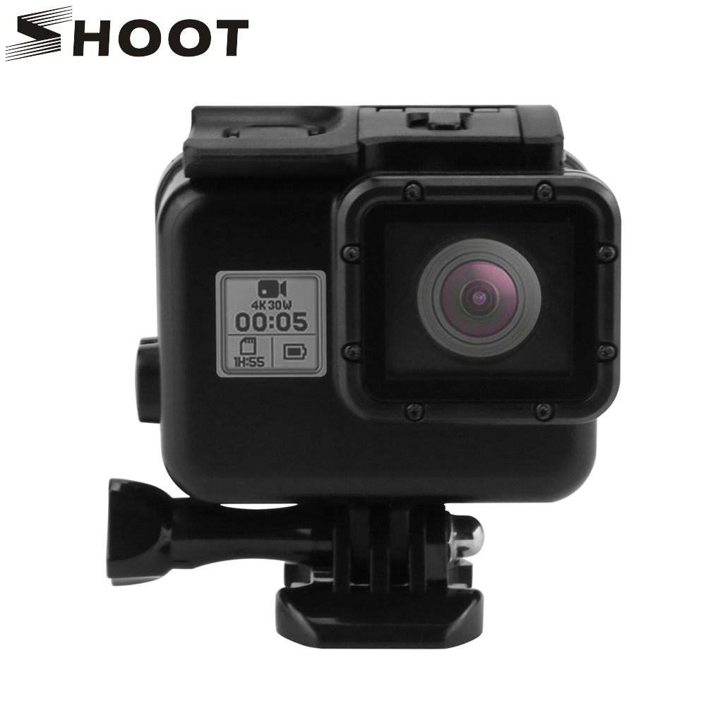 SHOOT 45m Diving Waterproof Case for GoPro Hero5 Black Edition Camera Housing Case For Go Pro